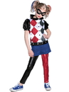 DC Superhero Girls Harley Quinn Deluxe Child Costume M - 273718