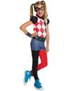 Rubies 273771 DC Superhero Girls Harley Quinn Child Costume S