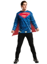 Rubies 273786 Batman V Superman: Dawn of Justice - Superman Adult Costume Top XL