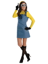 Rubies 273814 Despicable Me Minion Women's Adult Costume L