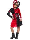 Rubies 273974 Harley Quinn Child Hoodie Dress S