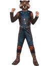 Rubies 274007 Guardians Of The Galaxy Rocket Raccoon Child Costume M
