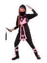 Rubies 274066 Pink Crystal Ninja Child Costume S