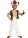 Disguise 274503 Super Mario Brothers Toad Toddler Costume - 3T - 4T