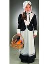 Forum 59579L Colonial / Pilgrim Girl Child Costume - LARGE