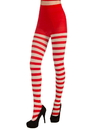Adult Christmas Striped Tights