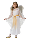 Deluxe Lace Girls Angel Costume - Small