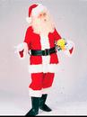 Mens Professional Velvet Santa Suit - 3X