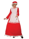 Traditional Mrs Claus Adult Costume - Plus