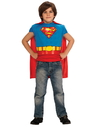 Superman Muscle Chest Shirt Set Child One Size
