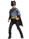 Batman Deluxe Muscle Chest Shirt Box Set Child One Size