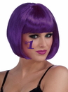 Forum Novelties 71602 Purple Adult Bob Wig - One-Size