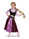 Disguise 66083M Tangled the Series Season 2 Rapunzel Classic Travel Outfit Toddler Costume - 3-4T