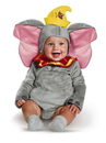 Disguise 99882V Dumbo Deluxe Infant Costume - 6-12m