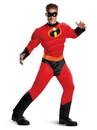 Disguise 66844D Incredibles 2Mr. Incredible Classic Muscle Adult Costume - XL 42-46