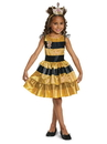 Disguise 10510L L.O.L Dolls Queen Bee Classic Child Costume - S 4-6