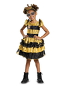 Disguise 10577L L.O.L Dolls Queen Bee Deluxe Child Costume - S 4-6