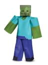Disguise 67692K MinecraftZombie Prestige Child Costume - M 7-8