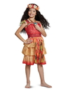 Disguise 79743L Moana Epilogue Deluxe Child Costume - S 4-6
