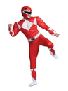Disguise 79729D Power Rangers - Mighty MorphinRed Ranger Classic Muscle Adult Costume - XL 42-46