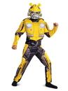 BuySeasons 67655G Transformers Bumblebee Movie Bumblebee Classic Muscle Child Costume