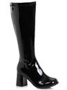 Ellie Shoes 276406 Women's 3 inch Wide Width Black GoGo Boot (Size 9)