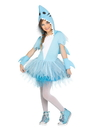 Fun World 124822L Shark Tutu Girl's Costume - 12/14