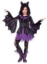 Fun World 276504 Night Flyer Girl's Costume (12/14)