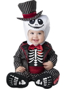 In Character CK6088M Lil' Skeleton Infant Costume - 12-18