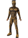Rubies 641050L Marvel: Black Panther Movie Deluxe Boys Erik Killmonger Battle Suit Costume - Large