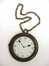 Forum 60938 Rappers Clock Necklace NS