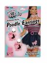 Forum 62236 Poodle Earrings NS