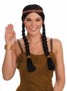 Forum 65326 Black Squaw Adult Wig NS