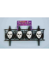 Forum 57484 Gothic Skull Fence NS