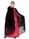 Forum 64693 Womens Black Victorian Cape STD