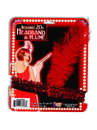 Forum 25103 Flapper Headband Red With Red Feather NS