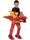 Forum 79529 Kids Ride-A-Dragon Costume O/S