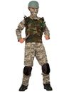Forum 80547 Boys Combat Trooper Costume LARGE