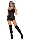 Forum 80573 Womens Rhinestone Corset STD