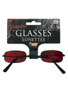 Forum 74242 Red Vampire Glasses NS