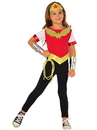 Imagine by Rubie's G31727 DC Superhero Girls Wonder Woman Dress Up Set S