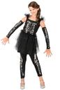 Princess Paradise PP1051BKM(8) Girls Sequin Skeleton Costume M - 8