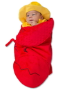 Princess Paradise PP47790/3M Baby Swaddle Wings Lobster Fisherman Costume 0/3M