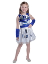 Princess Paradise 49552T Girls Classic Star Wars R2D2 Dress Costume 2T