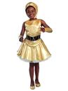 Princess Paradise 4956L(10) Girls Classic Star Wars C-3Po Dress Costume L - 10