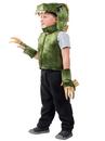 Princess Paradise 6081XS/S Boys Green T-Rex Dino Vest Costume XS/S