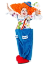 Princess Paradise PP6103S(6) Toddler Colorful Circus Clown Costume S - 6