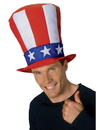 Rubies 47711 Uncle Sam Adult Stovepipe Hat NS