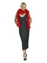 Rubies 7102 Red Fashion Boas NS