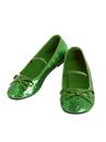 BuySeasons 2000604/5 Girls Ballet Shoe Green
